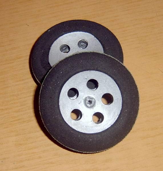 Легкие колеса для авиамоделей