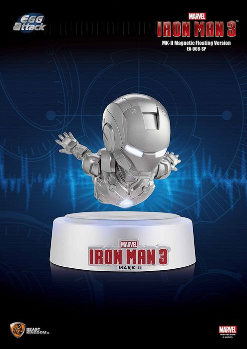 Левитирующий iron man mark ii от beast kingdom