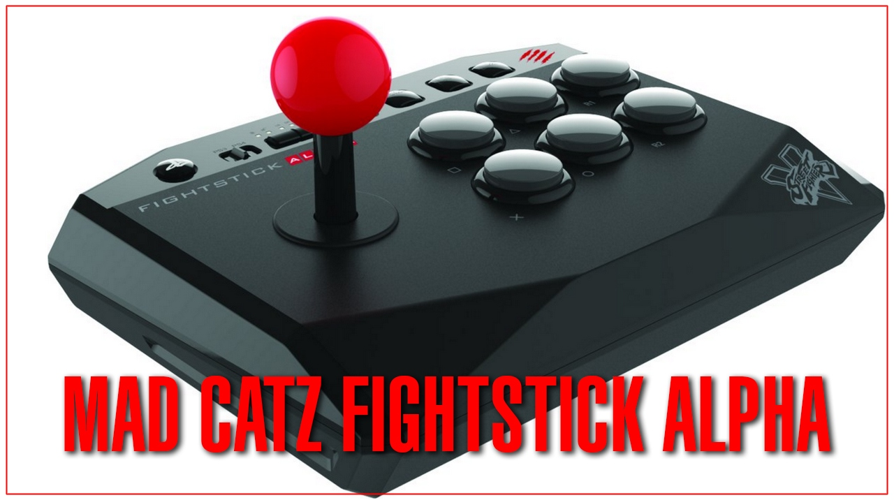 Mad catz fightstick alpha [ps4/ps3]
