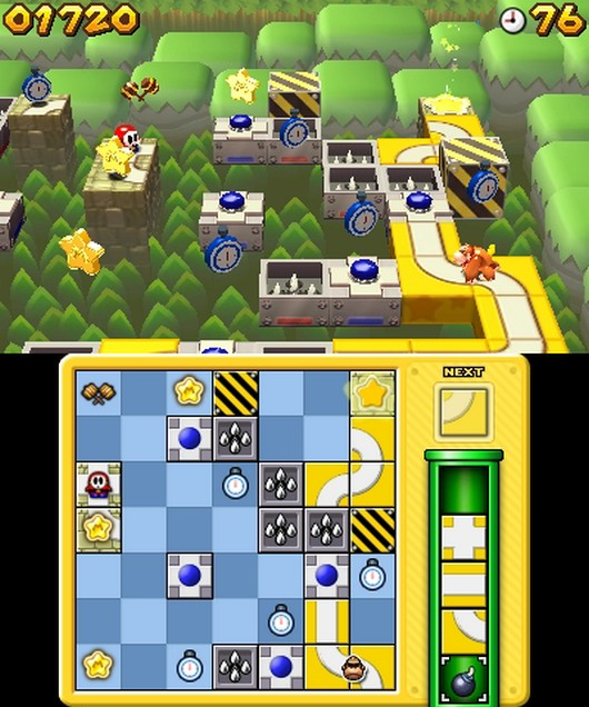 Mario and donkey king: minis on the move [3ds]