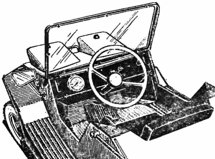 Микроавтомобиль «дружок»