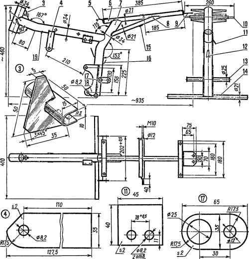 Мини-мокик: школа конструирования