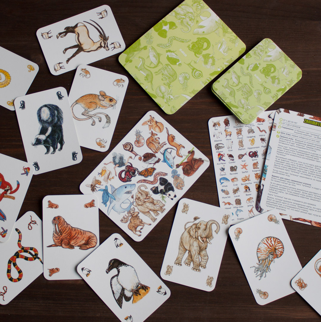 Мини-обзор карточной игры «занимач» от djeco