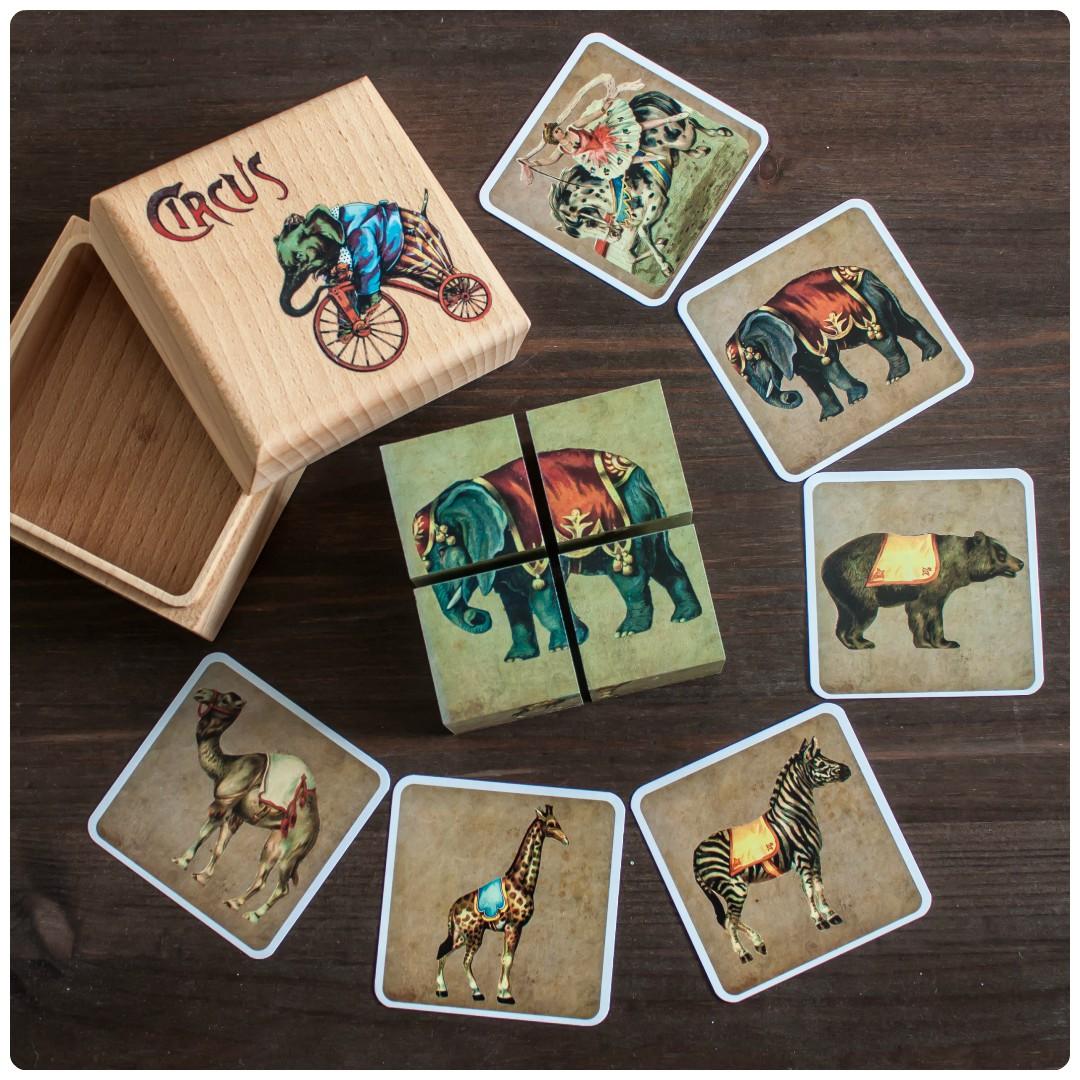 Мини-обзор кубиков «цирк» от «царицынской игрушки»