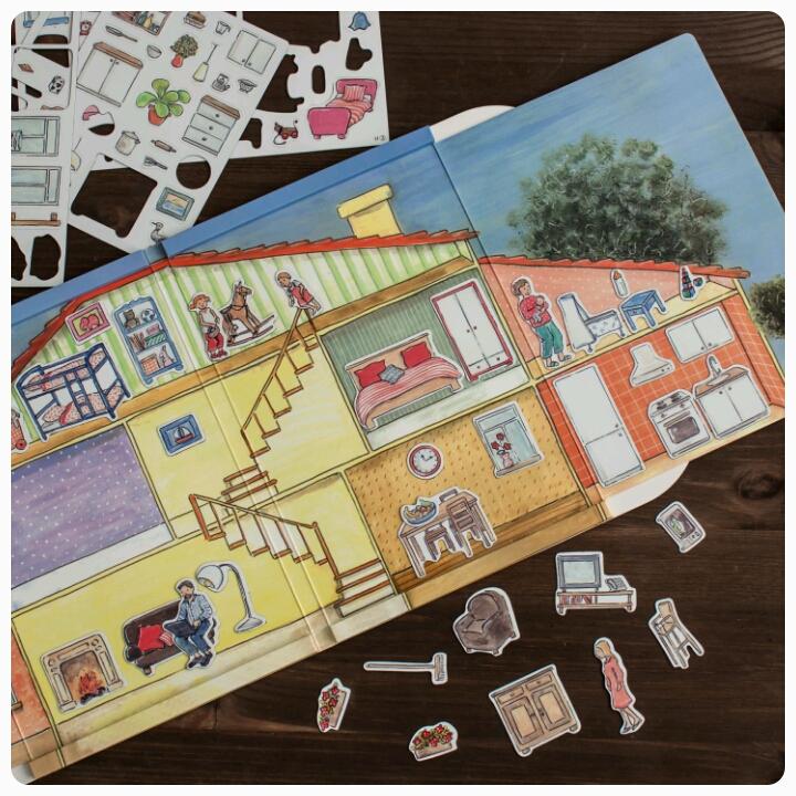Мини-обзор магнитной игры «дом» от egmont toys