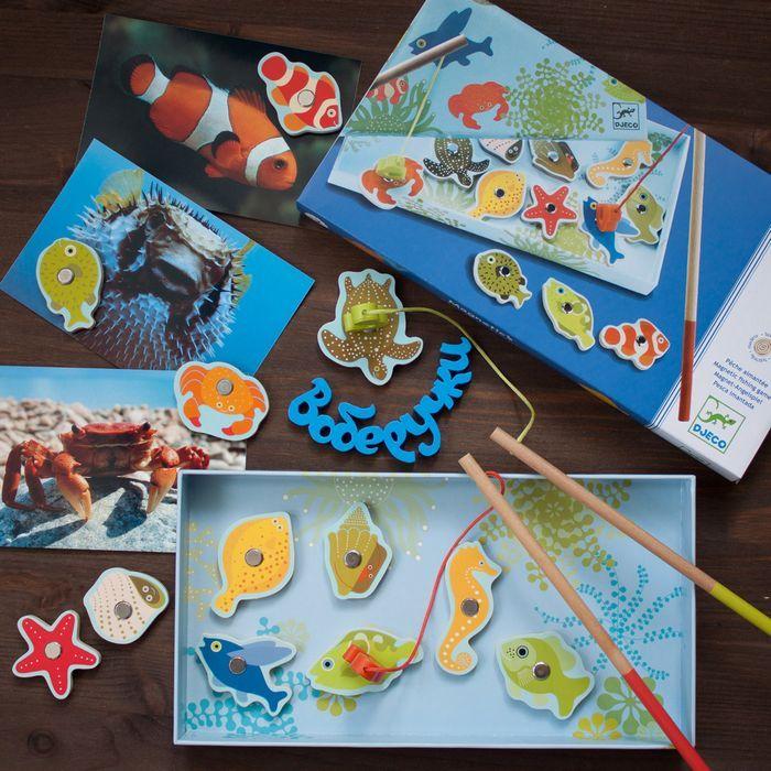 Мини-обзор магнитной игры «тропическая рыбалка» от djeco