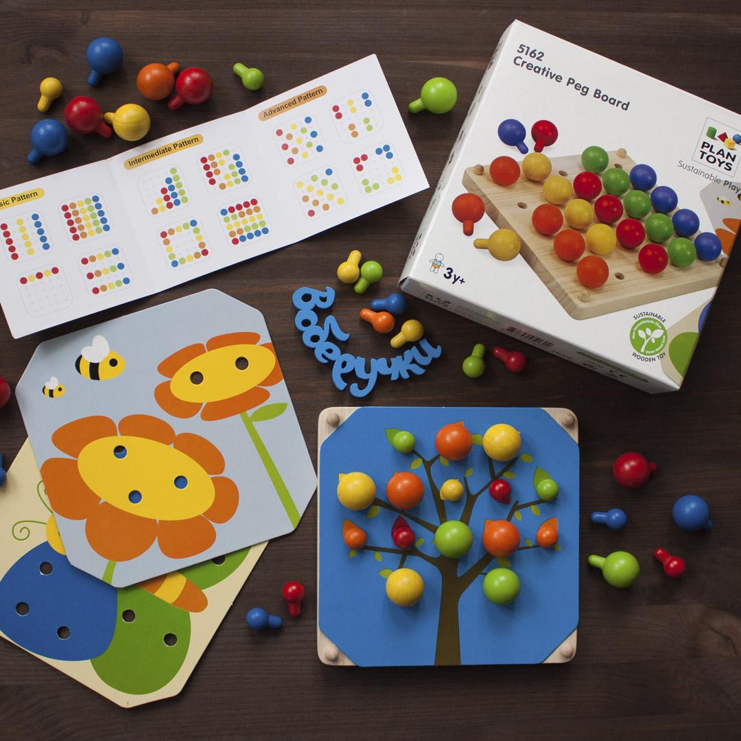 Мини-обзор «мозаики» от plan toys