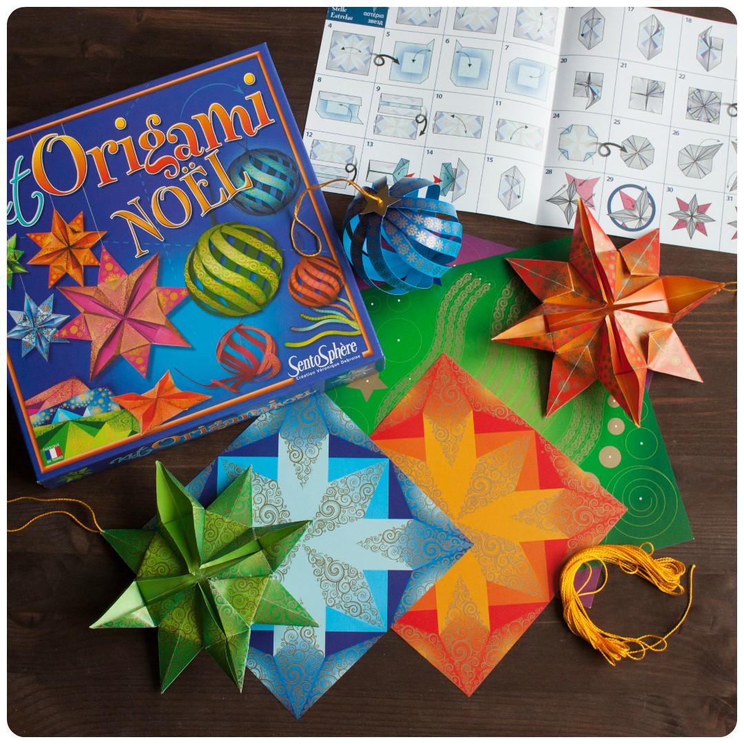 Мини-обзор набора для творчества «оригами. новый год» от sentosphere