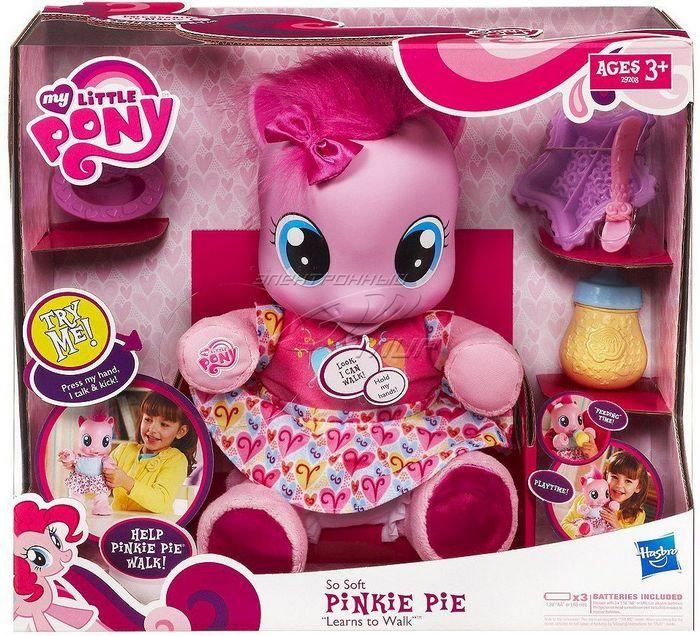 Мягкая игрушка малышка пони пинки пай, фото обзор