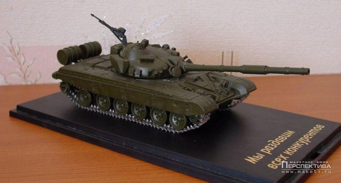 Модели танков на радиоуправлении