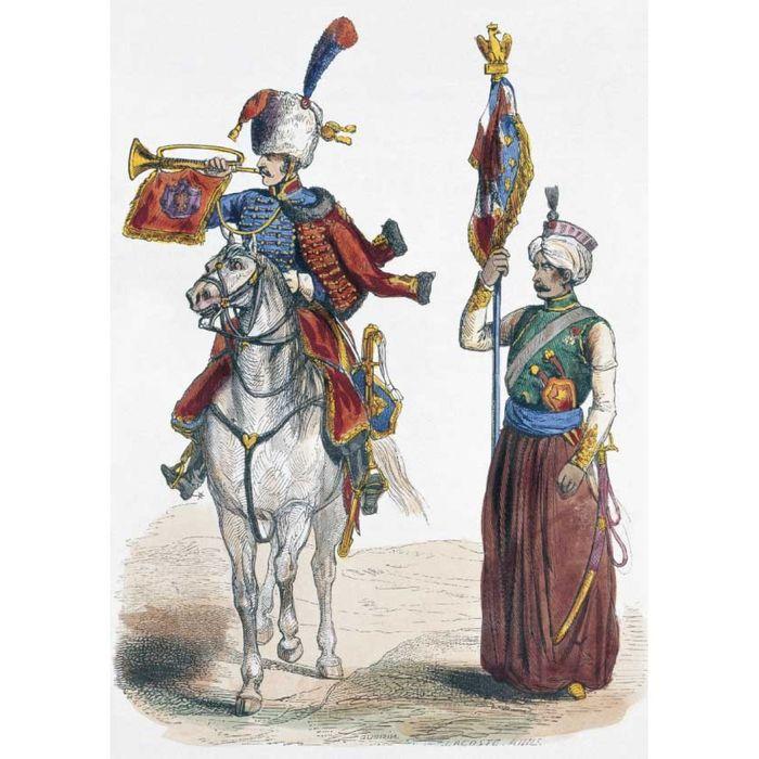 Наполеоновские войны 80 - урядник атаманского казачьего полка, фото обзор