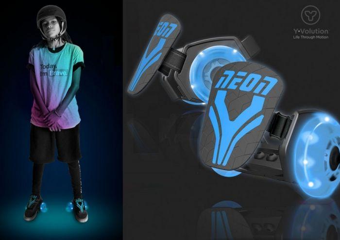 Неоновые мини-ролики neon street roller от yvolution