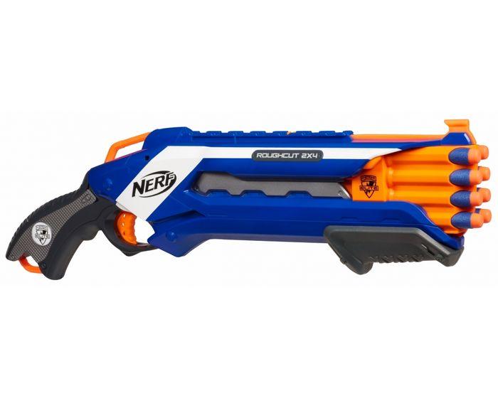 Nerf бластер elite rampage, фото обзор