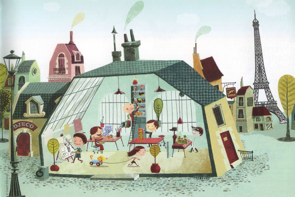 О производителях игрушек: djeco, франция