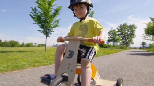 Обучающий детский велосипед dreisch leaning tricycle