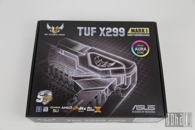 [Обзор] asus tuf x299 mark i motherboard
