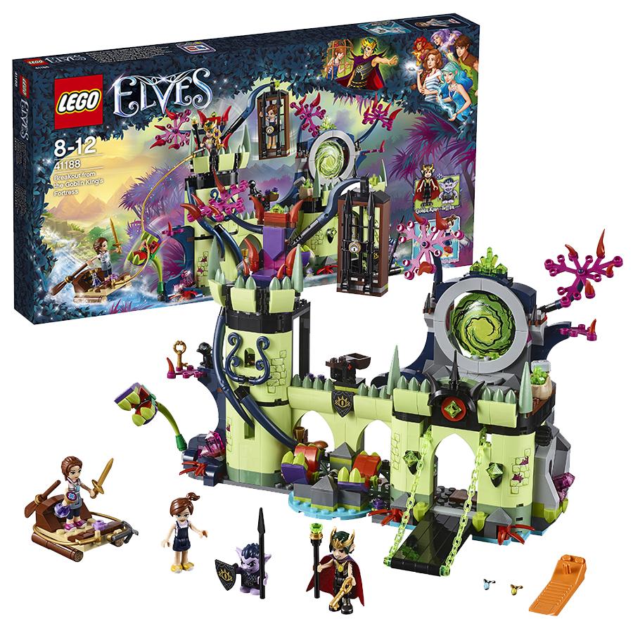 Обзор конструктора lego elves 41188 побег из крепости короля гоблинов