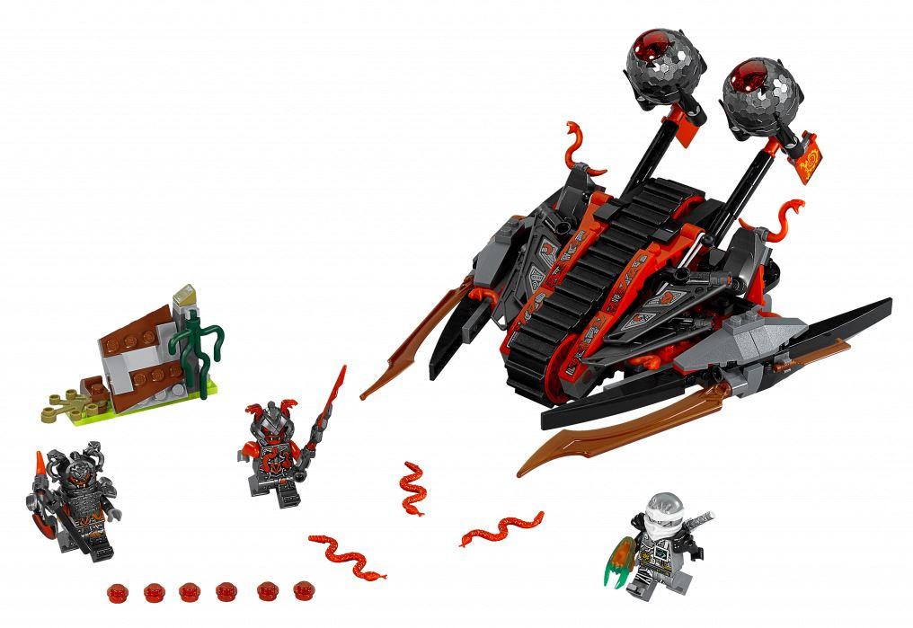 Обзор конструктора lego ninjago 70624 алый захватчик