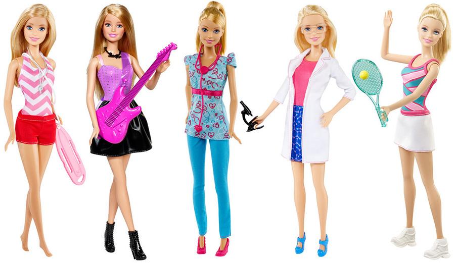 Обзор кукол barbie серия кем быть?