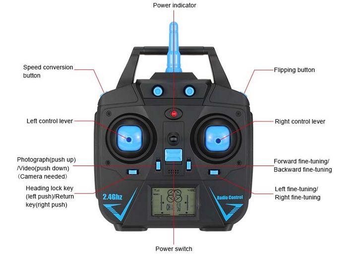 Обзор квадрокоптера jjrc h31