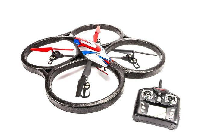 Обзор квадрокоптера с камерой wlt-v262c v262 ufo quadcopter.