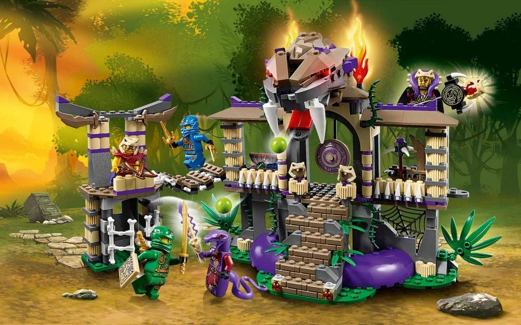 Обзор набора lego ninjago 70749 лего ниндзяго храм клана анакондрай