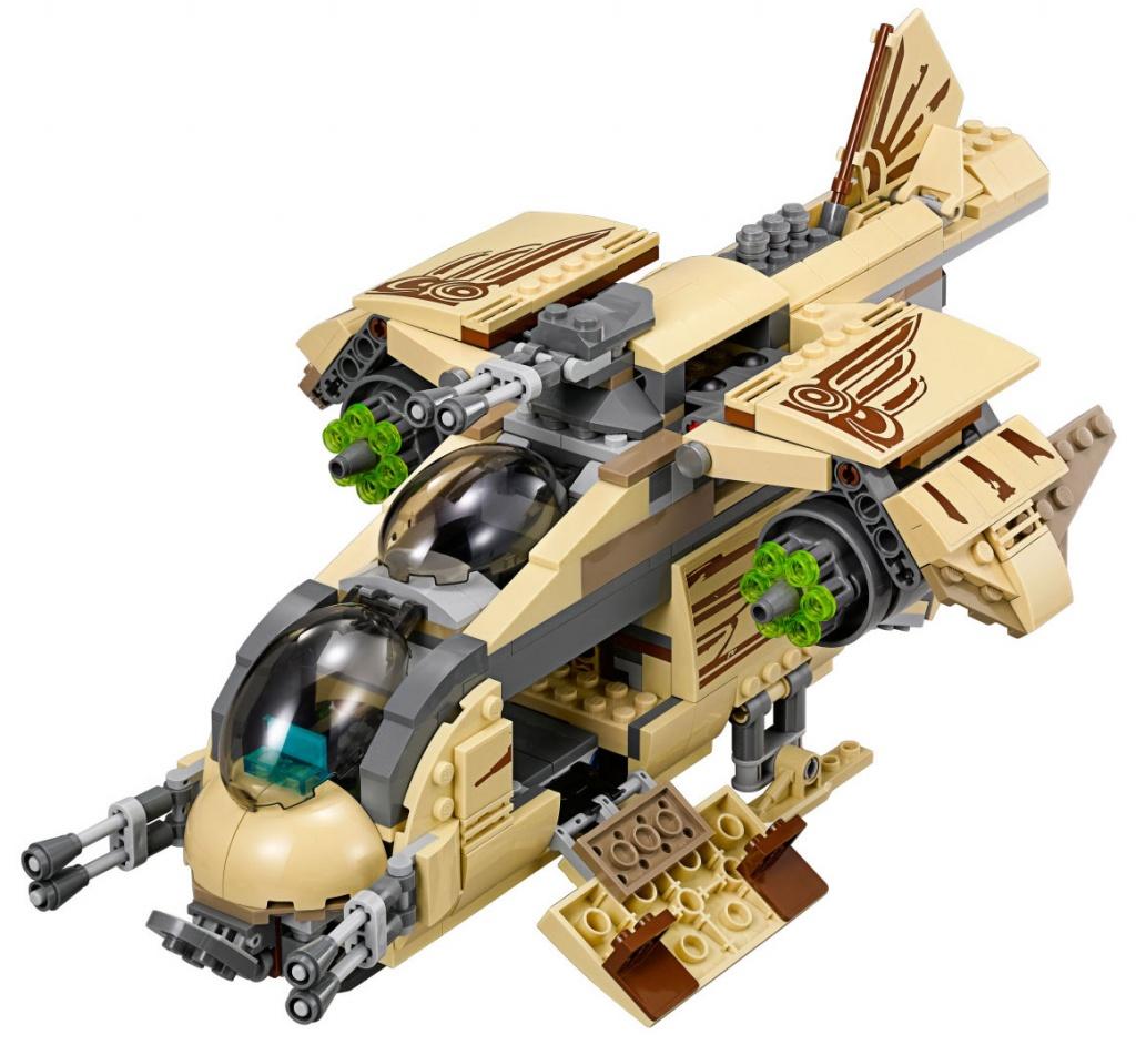 Обзор набора lego по мультсериалу звездные войны: повстанцы!