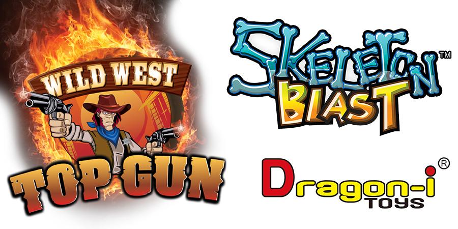 Обзор новинок от dragon-i - скелетон бласт и интерактивный тир топ ган!