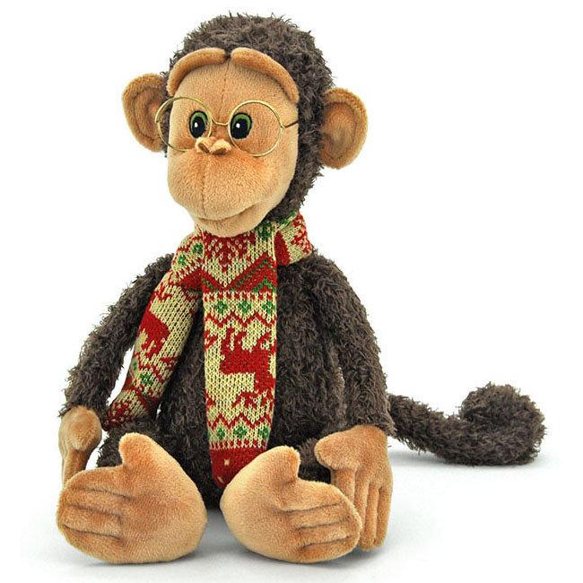 Orange обезьянка гоша, мягкая игрушка, фото обзор