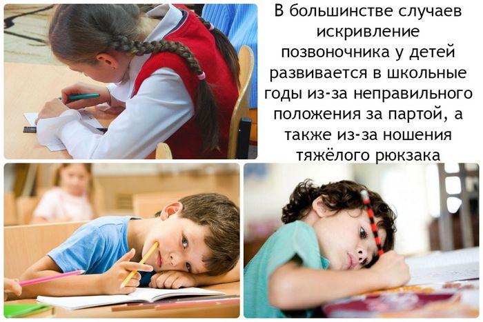 Осанка у детей. профилактика нарушений осанки у ребёнка.