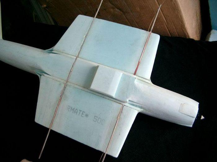 Parkflyer 3. летающий танк (ил-2)