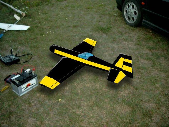 Первая постройка пилотажки. личный опыт.