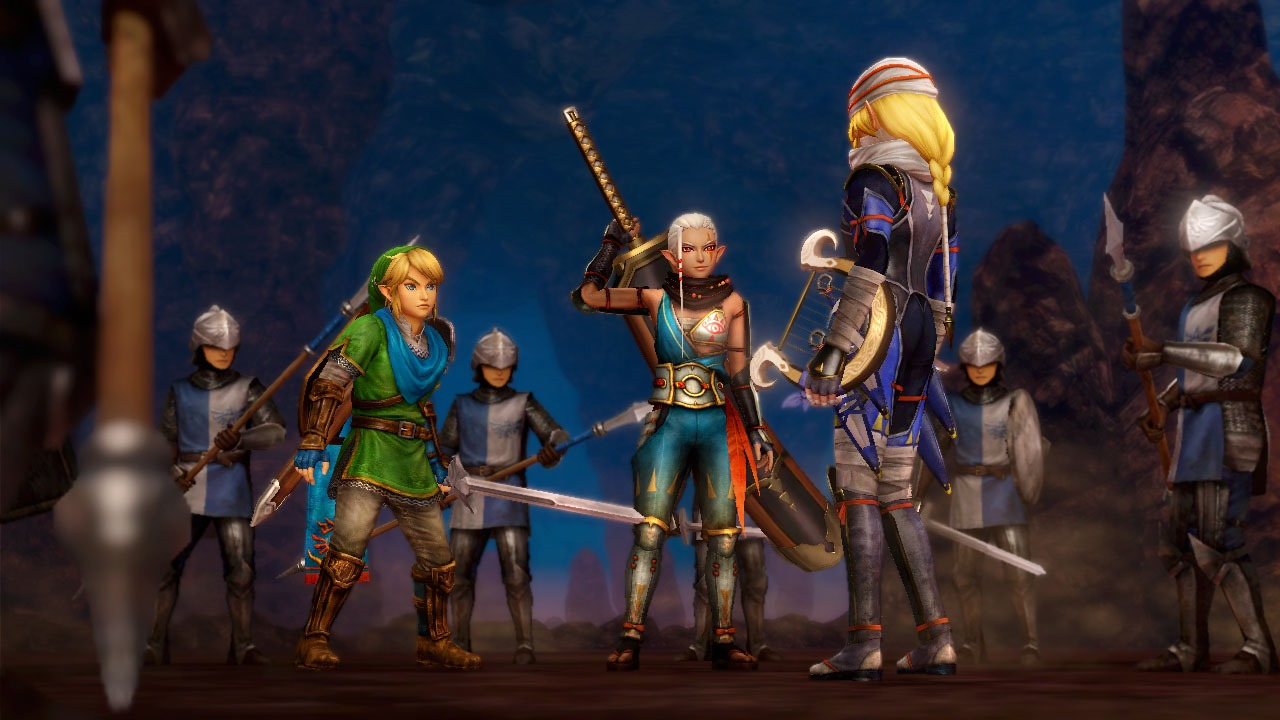 Первые впечатления от hyrule warriors [wii u]