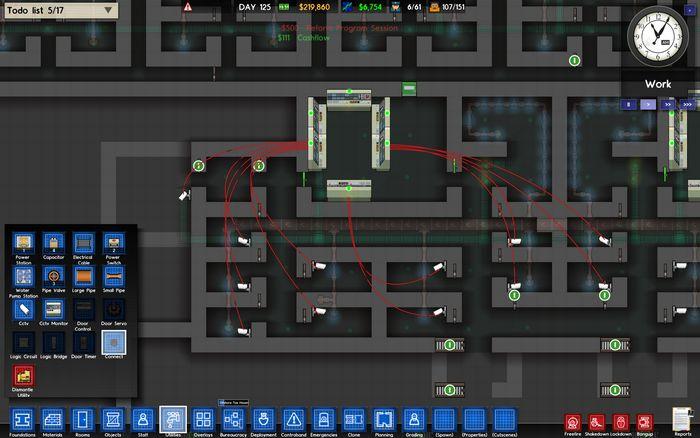 Первый взгляд на альфа-версию prison architect