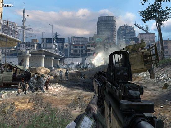 Первый взгляд на modern warfare 3