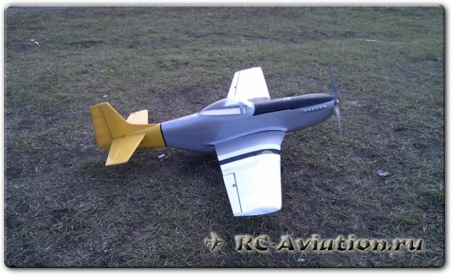 Pilotage p51 mustang ep/25 arf