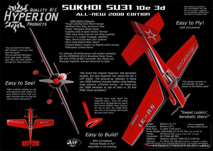 Pilotage su-31 ep arf