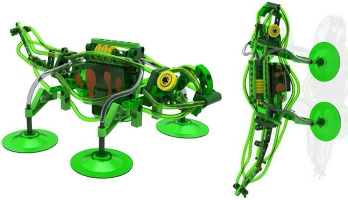 Робот-скалолаз geckobot от thameskosmos