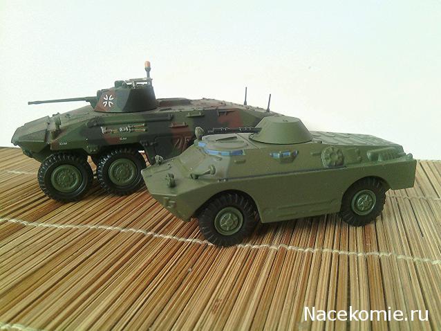 Русские танки №97 - брдм-2