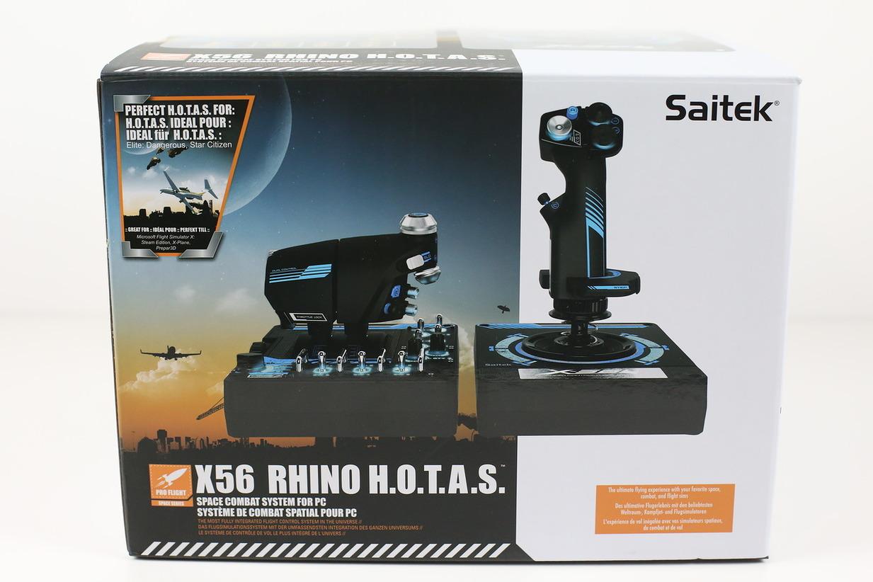 Saitek pro flight x-56 rhino h.o.t.a.s. - обзор джойстика