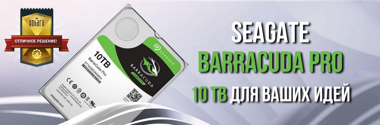 Seagate barracuda pro - 10 tb для ваших идей