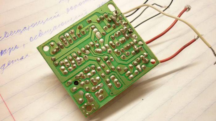 Схема радиоуправляемой машинки