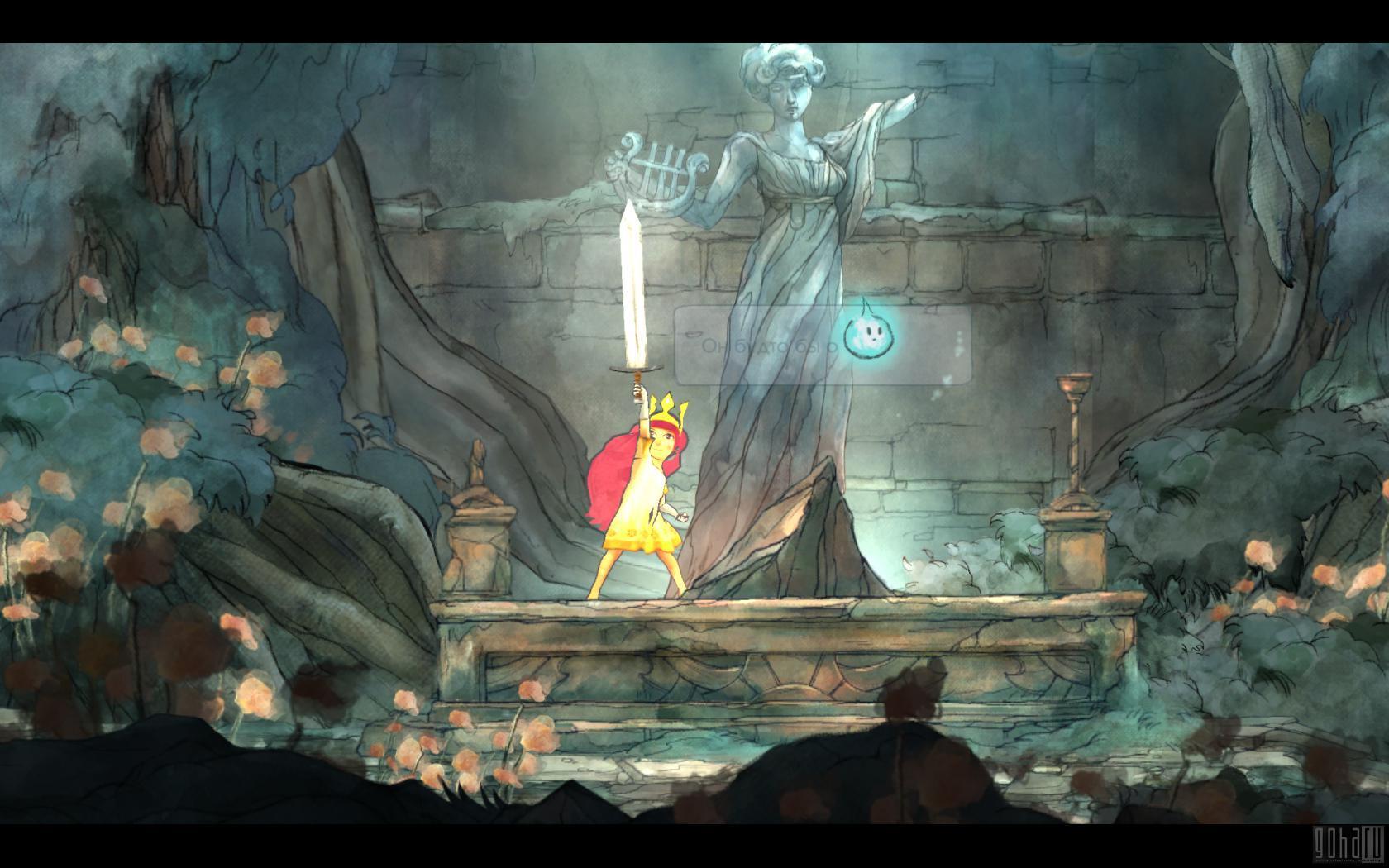 Сhild of light: волшебная сказка в формате jrpg платформера