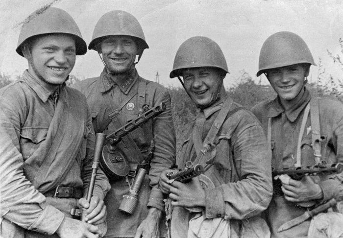 Солдаты великой отечественной войны 15