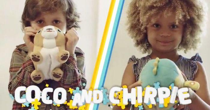 Современные мягкие игрушки fuzzy flyers