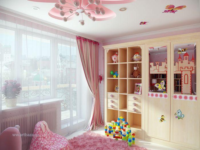 Создание интерьера в детской комнате