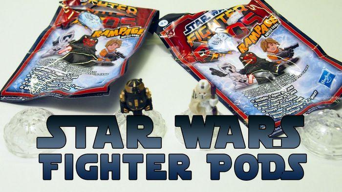 Star wars fighter pods - набор с 16 фигурками (обзор)