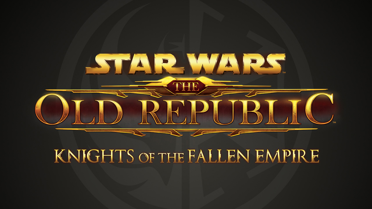 Star wars: the old republic - knights of the fallen empire