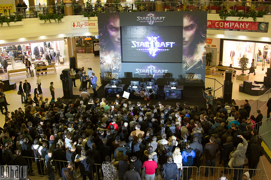 Starcraft 2 heart of the swarm: старт продаж в москве