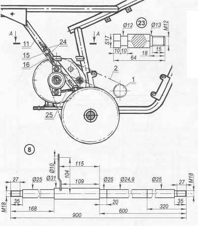 Старый мотоцикл - новый мотоблок